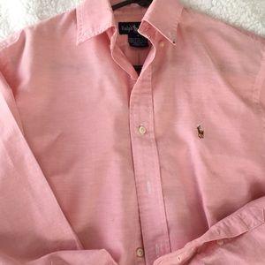 Ralph Lauren oxford Button Down - Like new! Size 4